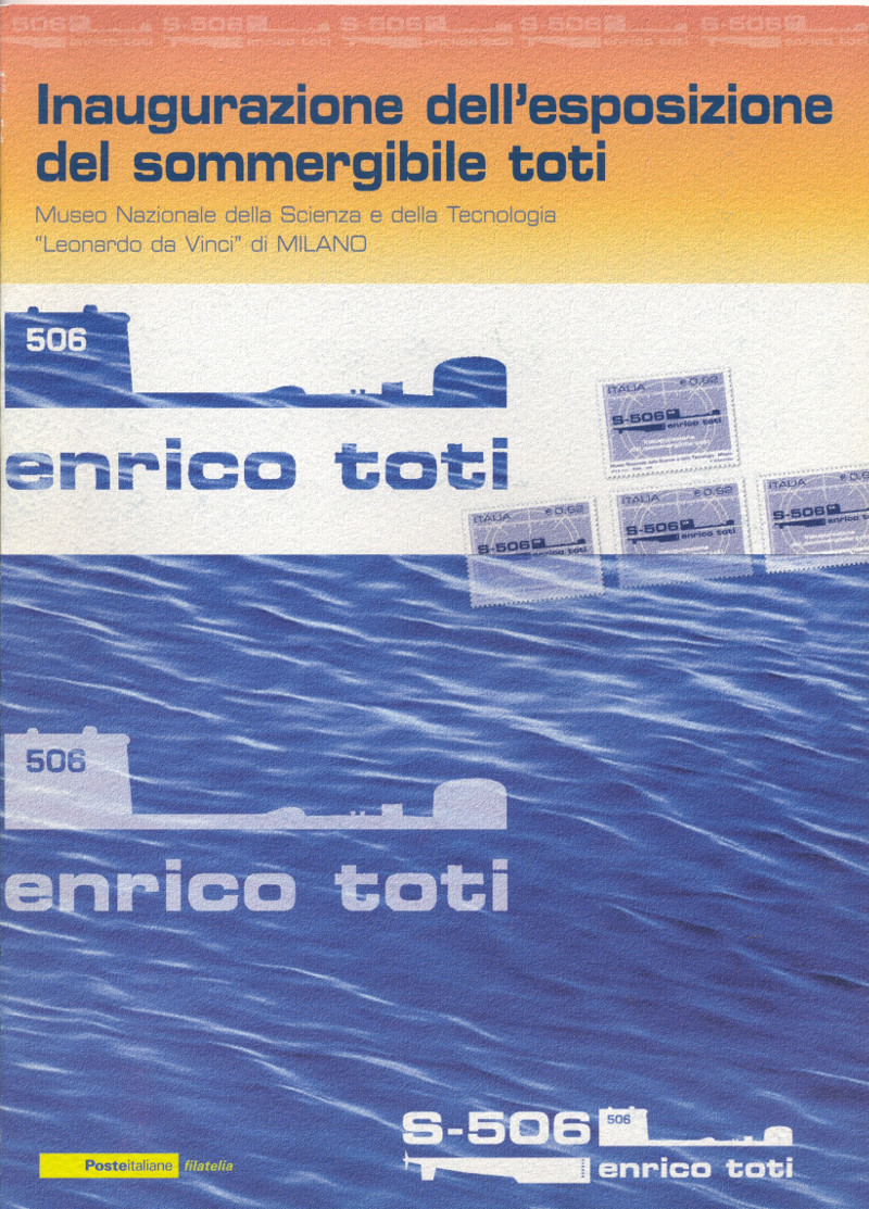 "Folder ""Sommergibile Enrico Toti"""