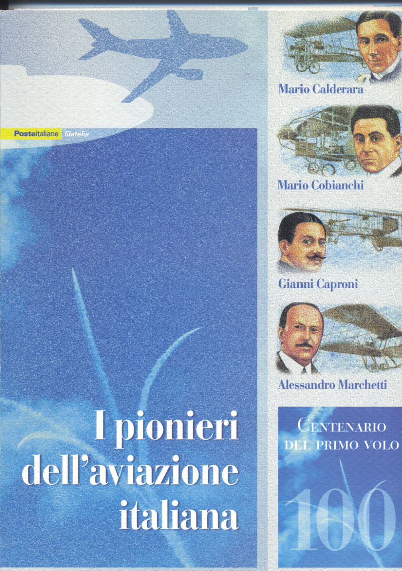"Folder ""Pionieri dell'aviazione italiana"""
